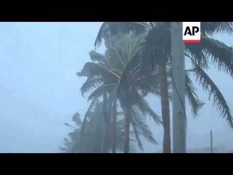 Weakened tropical storm Fernand drenches eastern coast