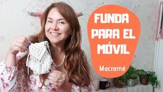 Funda para el teléfono móvil 📱 de Macramé