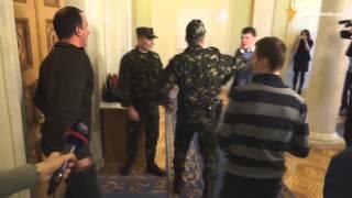 Верховная рада Украины Драка Соболев против Ивченко