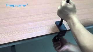 Hapurs Universal Gooseneck Tablet Mount, Bed And Desk Tablet Bracket Holder