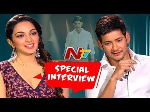 Mahesh Babu & Kiara Advani Funny Interview About Bharath Anu Nenu || NTV