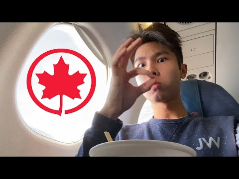 AIR CANADA Express ECONOMY Class: Embraer 175 Toronto To Boston // Preferred Seat