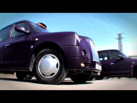 Purple Taxis