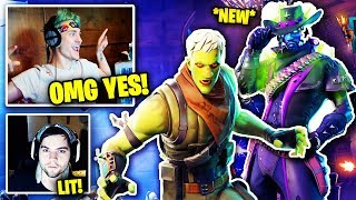 Streamers React To FORTNITEMARES (DEADFIRE SKIN - TRAILER - ZOMBIES) Fortnite Fortnite