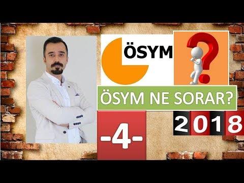 YKS EDEBİYAT SORU TAHMİNLERİ - 4 (2018)