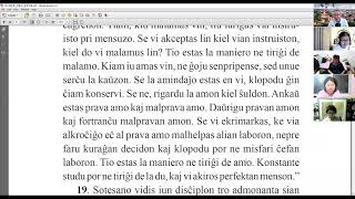 23 | La Sotesana Instruo de Ŭonbulismo | 에스페란토 원불교 대종경 공부 (zoom)