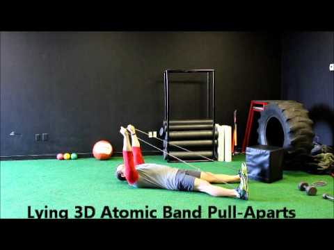 Lying 3D Atomic Band Pull Aparts