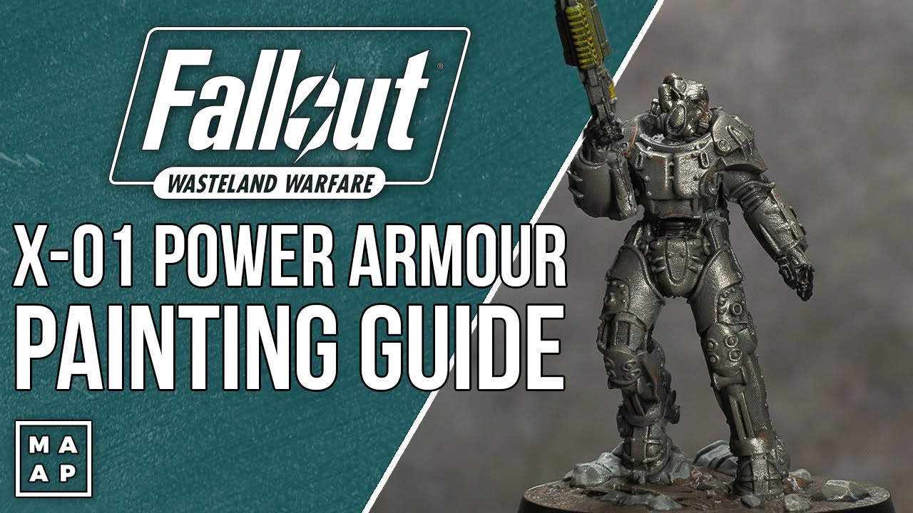 X-01 Power Armour Painting Tutorial from Fallout Wasteland Warfare