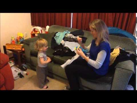 19 months old NZSL conversation