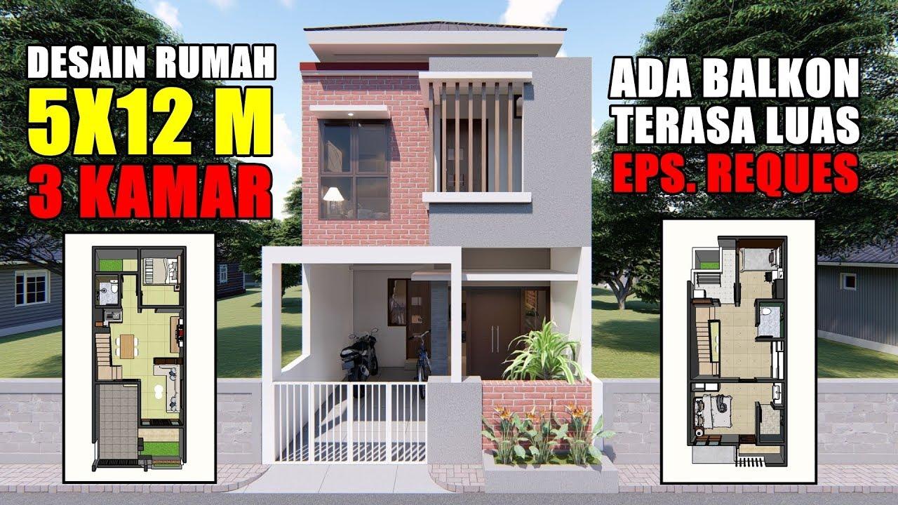 Desain Rumah 2 Lantai Beserta Denahnya