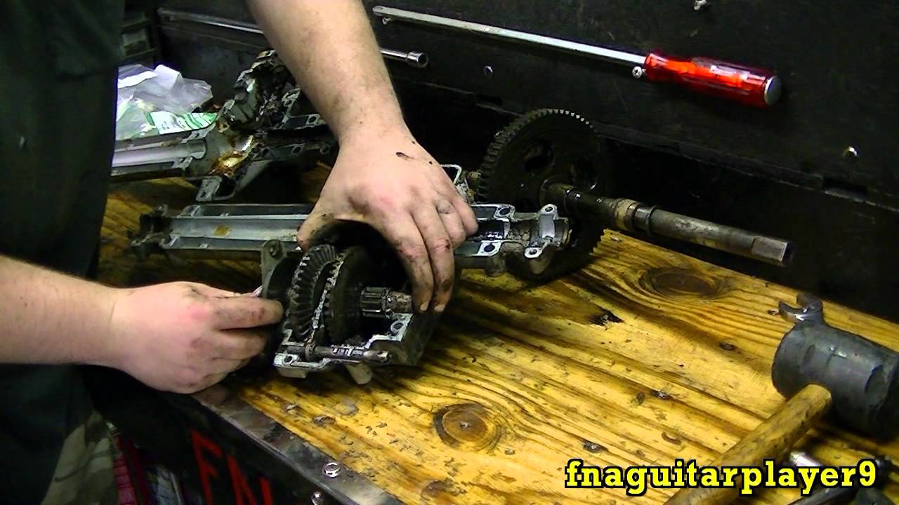 MTD Transaxle Basic Rebuild (Replacing all Bearings) Part 1 of 2