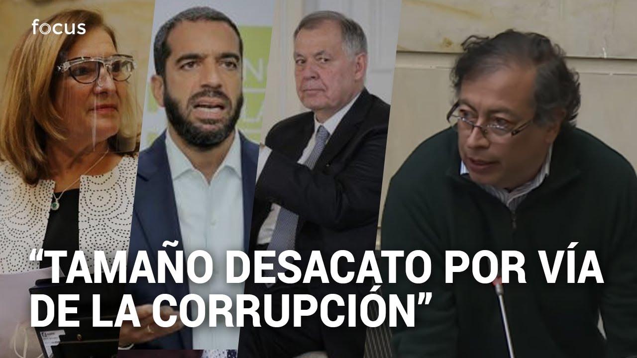 """""""¿Cómo se les ocurre?"""": Petro arremete contra el Congreso por proyecto de la Procuraduría"""