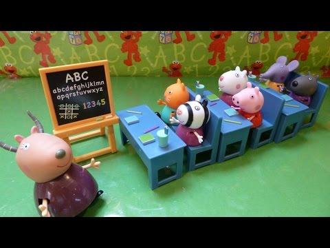 """""""Đồ Chơi Lớp Học Của Heo Peppa"""" (Bí Đỏ)ห้องเรียนหมู Peppa ของ - New Peppa Pig"""