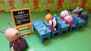 """""""Đồ Chơi Lớp Học Của Heo Peppa"""" (Bí Đỏ)ห้องเรียนหมู Peppa ของ - New Peppa Pig's Classroom Playset"""