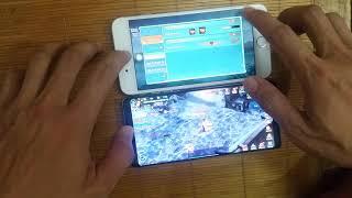 So sánh hiệu năng Samsung Note 8 (bản Snap835) với Iphone 7 plus (Apple A10)