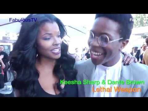 Keesha Sharp & Dante Brown of Lethal Weapon on FOX