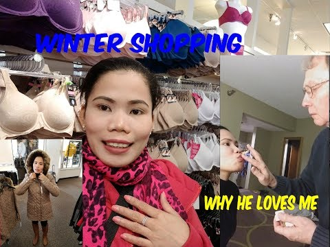 American Filipina Life In America     Winter Shopping In The Mountain + Why He Loves Me