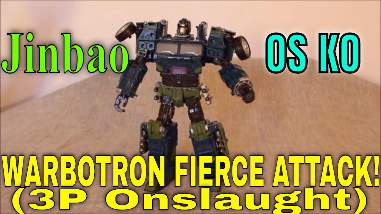 A Fierce Onslaught: Jinbao OS KO Warbotron Fierce Attack by GotBot