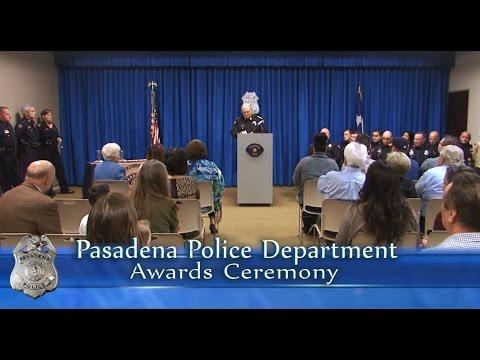 Pasadena Police Department Awards Ceremony January 2017