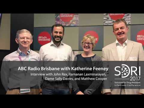Interview with SDRI keynote speakers on ABC Radio with Katherine Feeney for SDRI 2017 conference