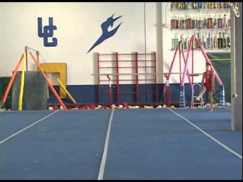 Front Handspring Step Out to Front Handspring Feet Toher