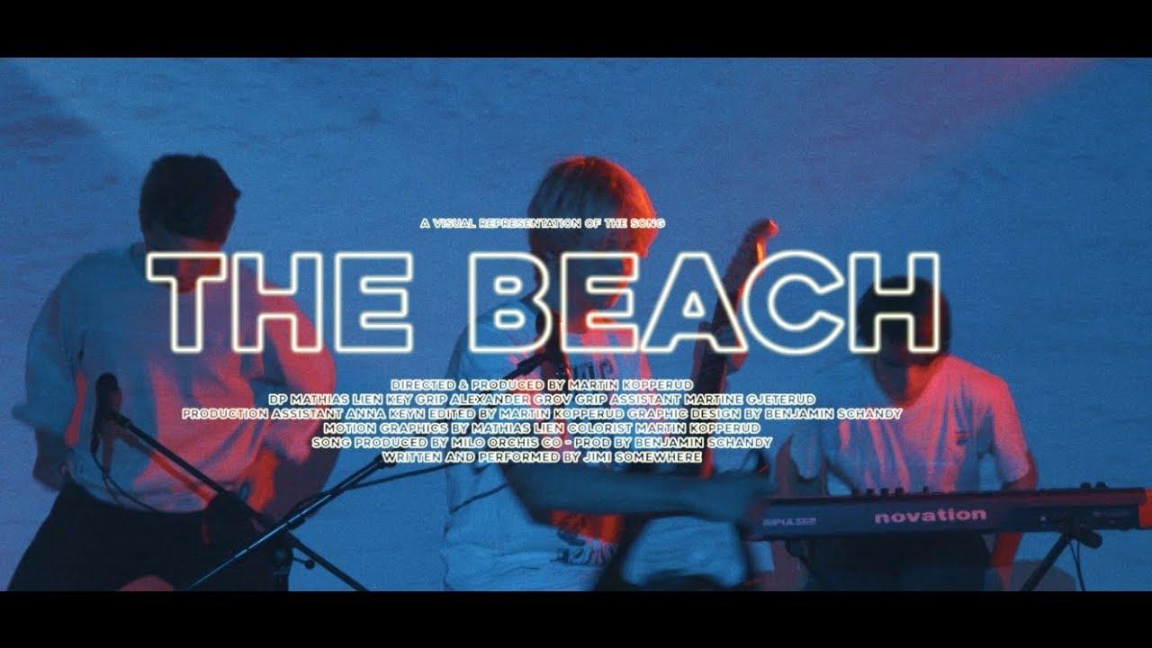 JIMI SOMEWHERE - THE BEACH (Stripped)