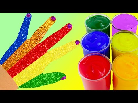Thumbnail: Learn Colors Play Doh Zoo Animal Elephant Ice Cream Body Paint Surprise Finger Family Nursery Rhymes