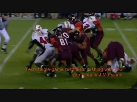 Virginia Tech Football  Darren Evans and Ryan Williams