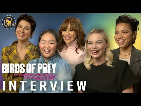 Birds Of Prey Interviews With Margot Robbie, Cathy Yan, Mary Elizabeth Winstead And More
