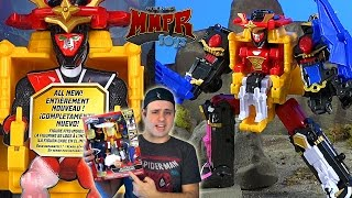 DX Ninja Steel Megazord Review! (Power Rangers Ninja Steel 2017)