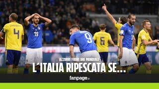L'Italia può essere ripescata ai Mondiali, ecco in quale caso