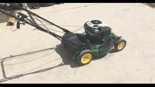 John Deere JS30 Mower Attempted Revival