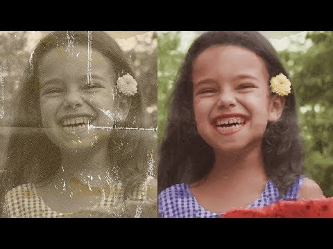 Damage Photo Repair In Photoshop And Color Tutorial | Old Photo Healing Brush Clone Stamp|