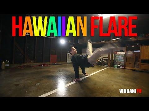 How to Breakdance | Hawaiian Flare | Beginner