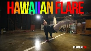 How to Breakdance   Hawaiian Flare   Beginner's Guide