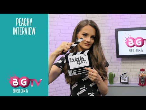 PEACHY! Die Sängerin hinter Tu m'appelles von Adel Tawil   Interview   Bubble Gum TV