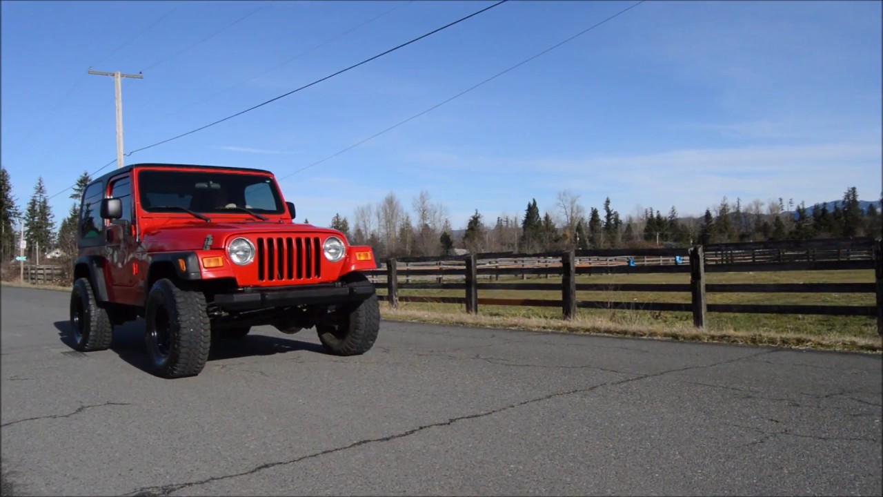 2005 jeep wrangler lj hardtop for sale - 2005 Jeep Wrangler Sport Tj 4 0l Automatic Hard Top