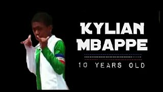 Kylian Mbappe Lottin | AT 10 YEARS OLD ● Young Talent Player ●