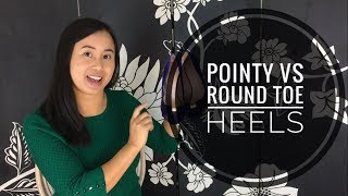 Create the right Shoe Impression - Pointy vs Round Toe Heels - Realise Style