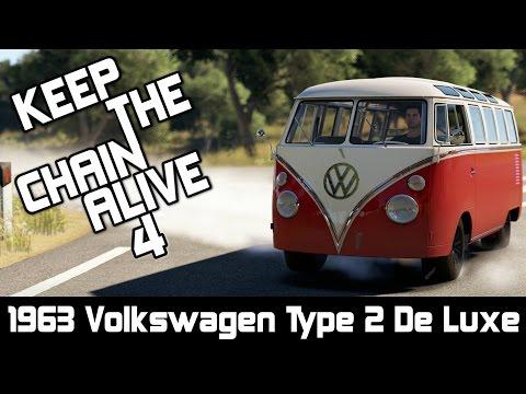 Forza Horizon 2 - Keep The Chain Alive 4 | 1963 Volkswagen Type 2 De Luxe