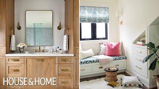 Chic Bedroom & Bathroom Makeover