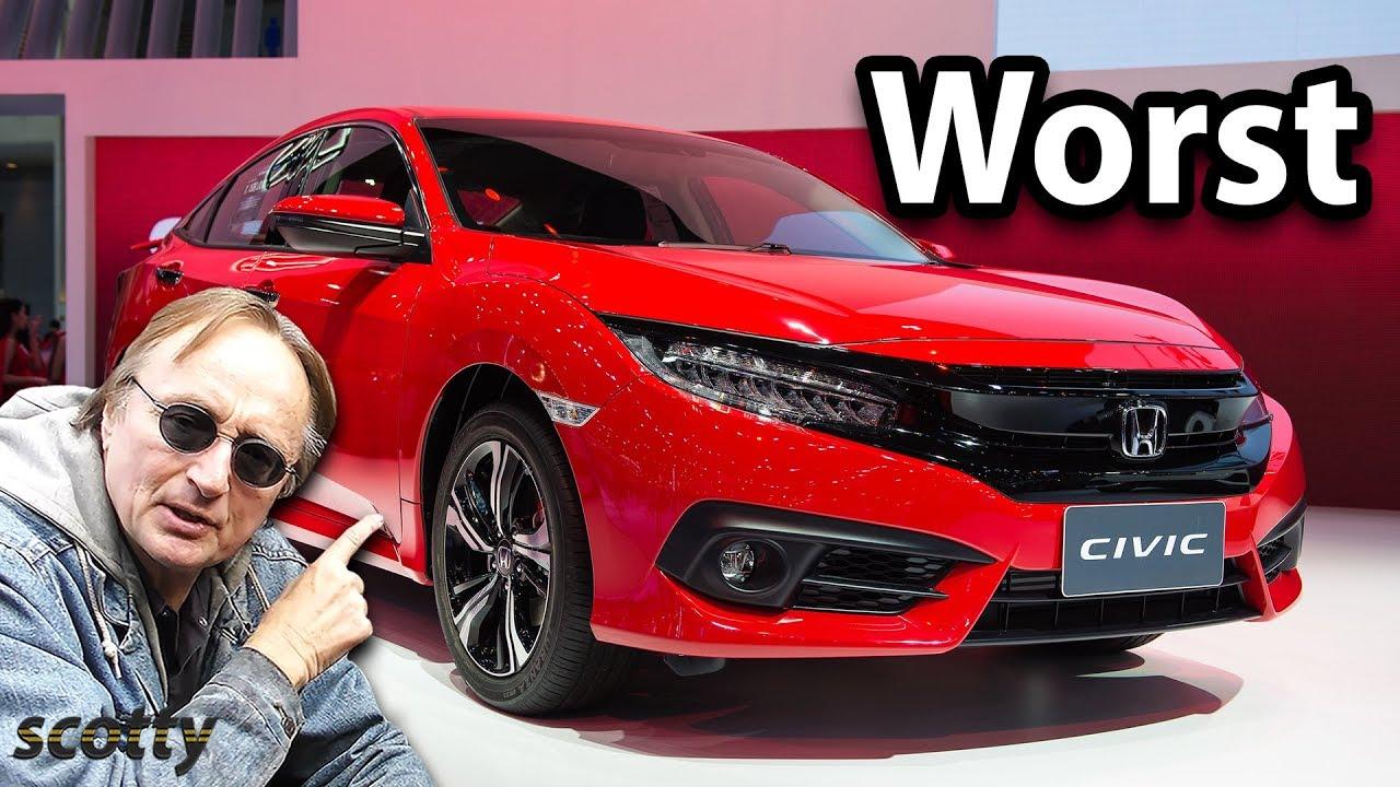 The Worst Cars Honda Ever Made
