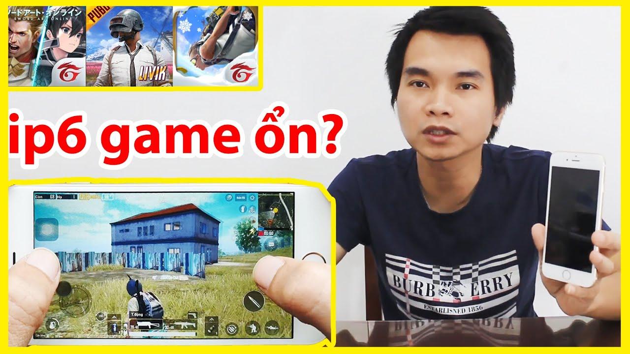 TEST GAME iPhone 6 Chơi Liên Quân PUBG Free Fire | Mua Điện Thoại iPhone Cũ Giá Rẻ Shopee