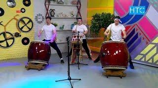 «Этно-Тенда»: «Если хорошо не размяться, то играть на барабанах сложно» / УтроLive / НТС