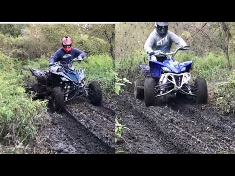 Sport Quads In Deep Ruts!!