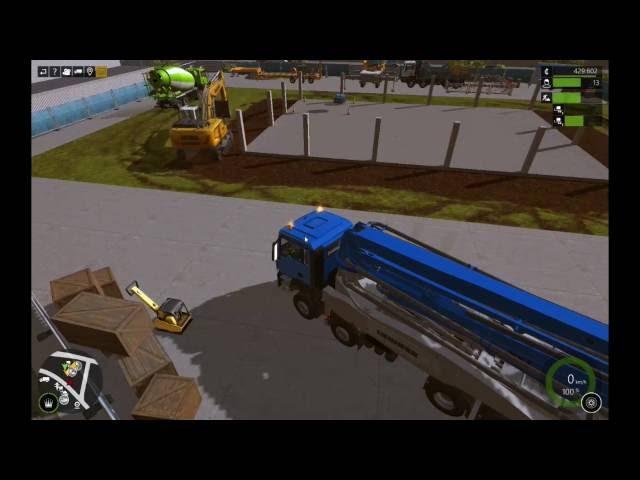 Let's Play Bau-Simulator 2015   Lagerhalle Teil 2   Folge #021