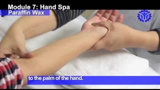 Perform Hand Spa: Paraffin Wax Treatment