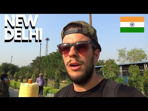 ARRIVING IN NEW DELHI - INDIA'S CAPITAL CITY