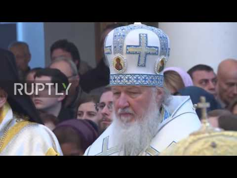 France: Patriarch Kirill leads consecration ceremony at Russian Orthodox centre in Paris