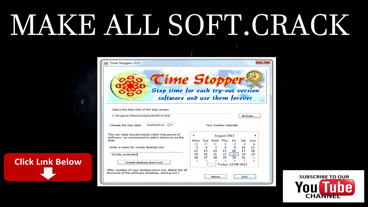 TIME STOPPER softwer free download (Updated) - YouTube